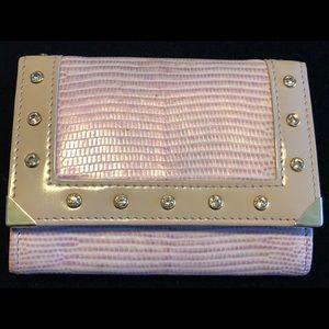 Swarovski Lilac Leather Lizard Small Wallet